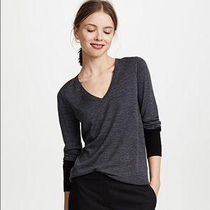 Club Monaco Agnes Colorblock Wool Sweater